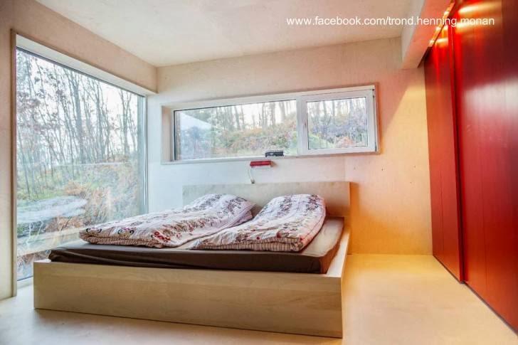 Dormitorio principal de la cabaña