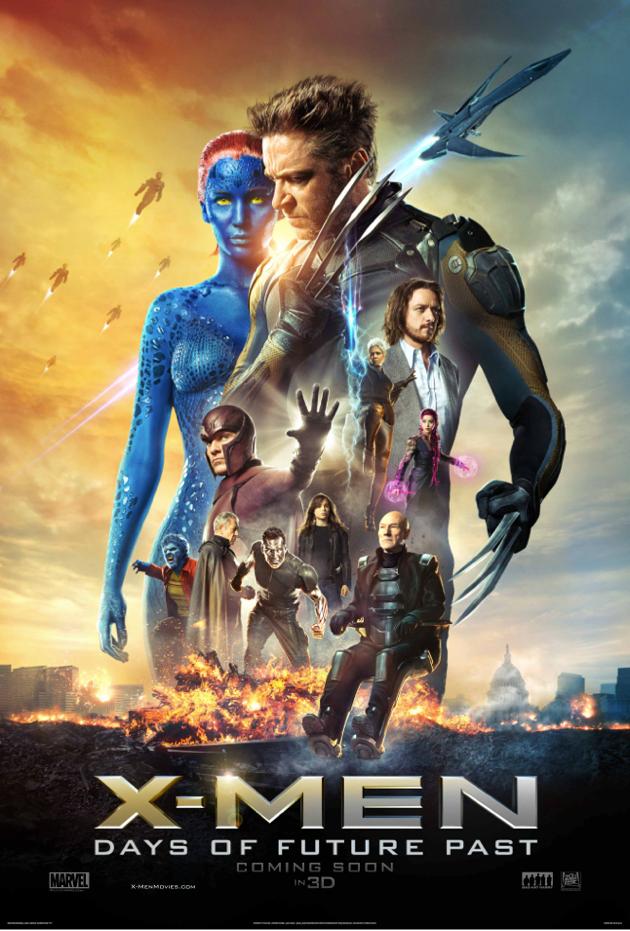 X-Men: Days of Future Past X Men Days of Future Past 2014 Watch Online Free 630x931 Movie-index.com