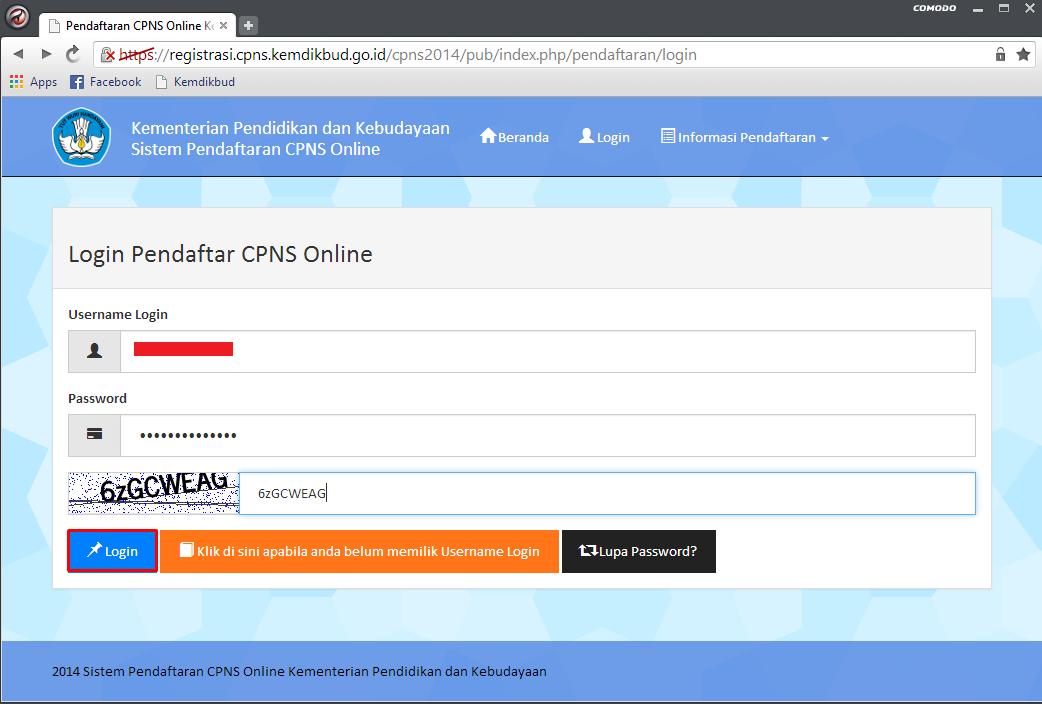 Solusi Lupa Password dan Belum Mendapatkan Password di Pendaftaran CPNS Portal Panselnas 2