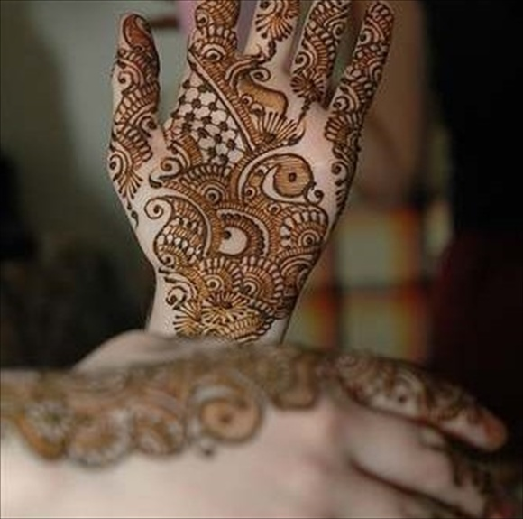 bridal arabic mehndi