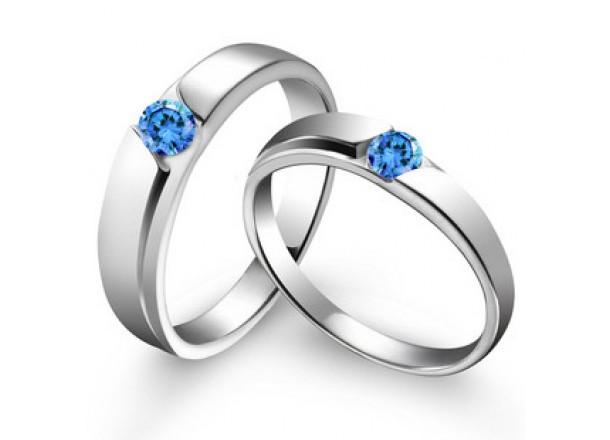 Anillos de diamantes para mujeres Alianzas Blue Nile - imagenes de anillos de oro para matrimonio