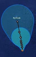 Tropischer Sturm LESLIE wahrscheinlich am Samstag als Hurrikan nach Bermuda, Vorhersage Forecast Prognose, Leslie, Bermudas, aktuell, Sturmwarnung, Atlantische Hurrikansaison, Hurrikansaison 2012, September, 2012,