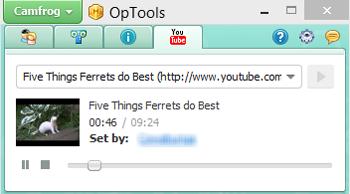 OpTools Camfrog YouTube