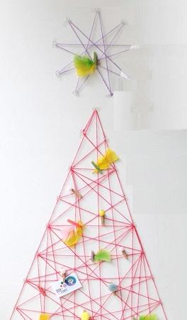 Originales rboles de navidad reciclados - Ideas originales para navidad ...