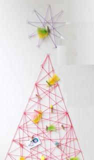 Originales árboles de Navidad Reciclados, Ideas para Decorar Responsablemente