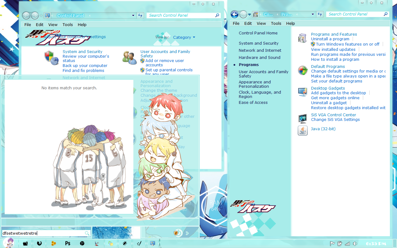 Kiseki No Sedai Theme Win 7