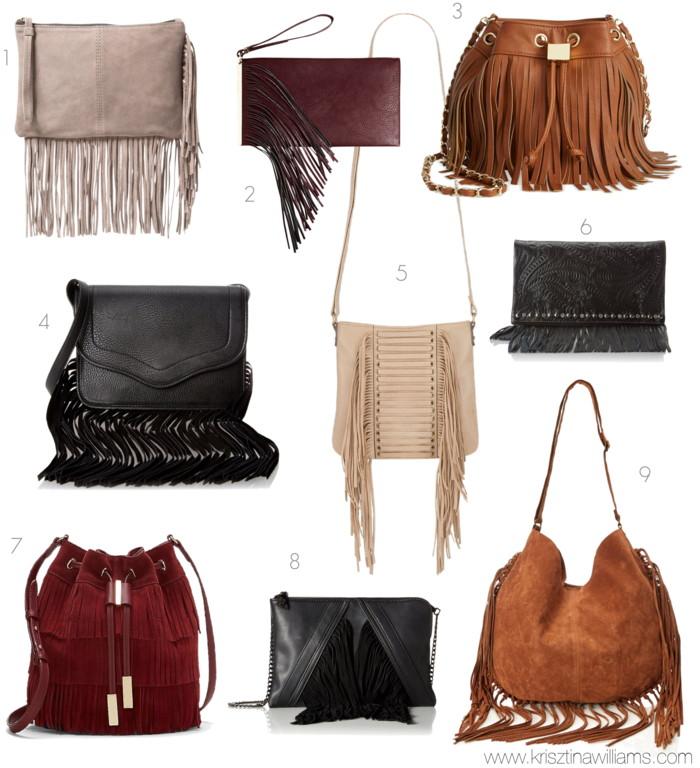 prada black saffiano lux tote - Krisztina Williams: Trending: Fringed Bags for Fall