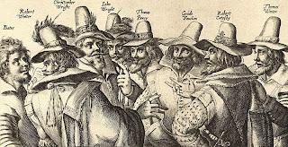 Conspiradores motín de la pólvora