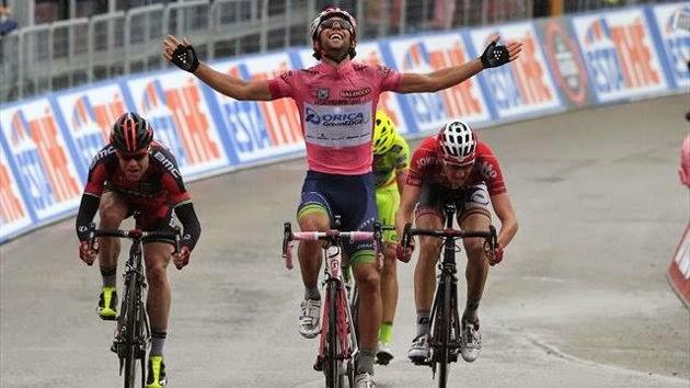 Matthews gana la sexta etapa y refuerza su liderato