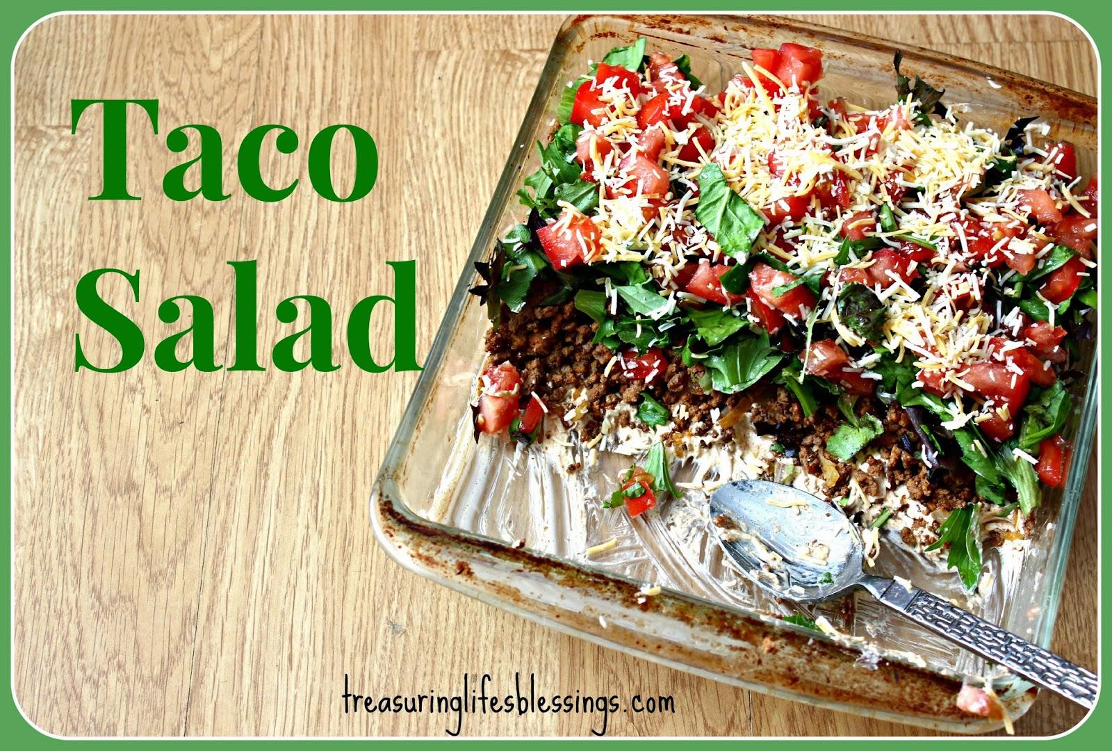 Taco Salad, Recipe, Gluten Free