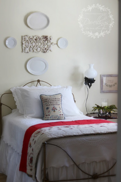 Colonial Farmhouse Guest Room