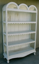 Shabby Chic Bookcase (SOLD)