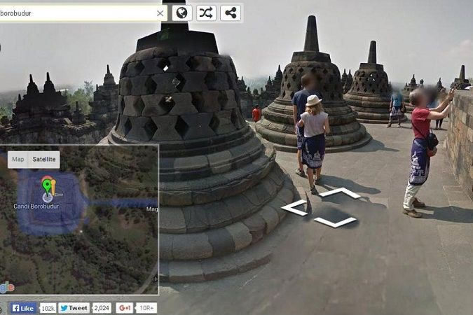 Borobudur Google Street View