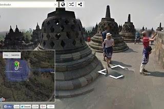 Candi Borobudur Kini Bisa Dijelajahi Lewat Google Street View