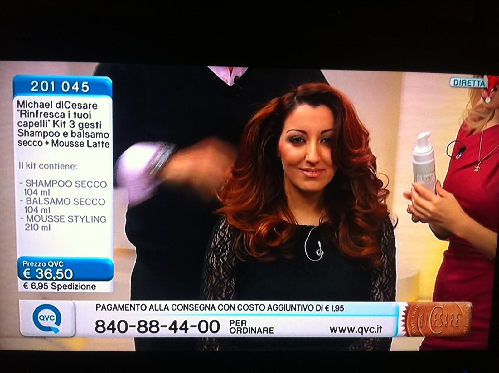 QVC Italia Michael diCesare e Véronique in diretta tv: uno ...