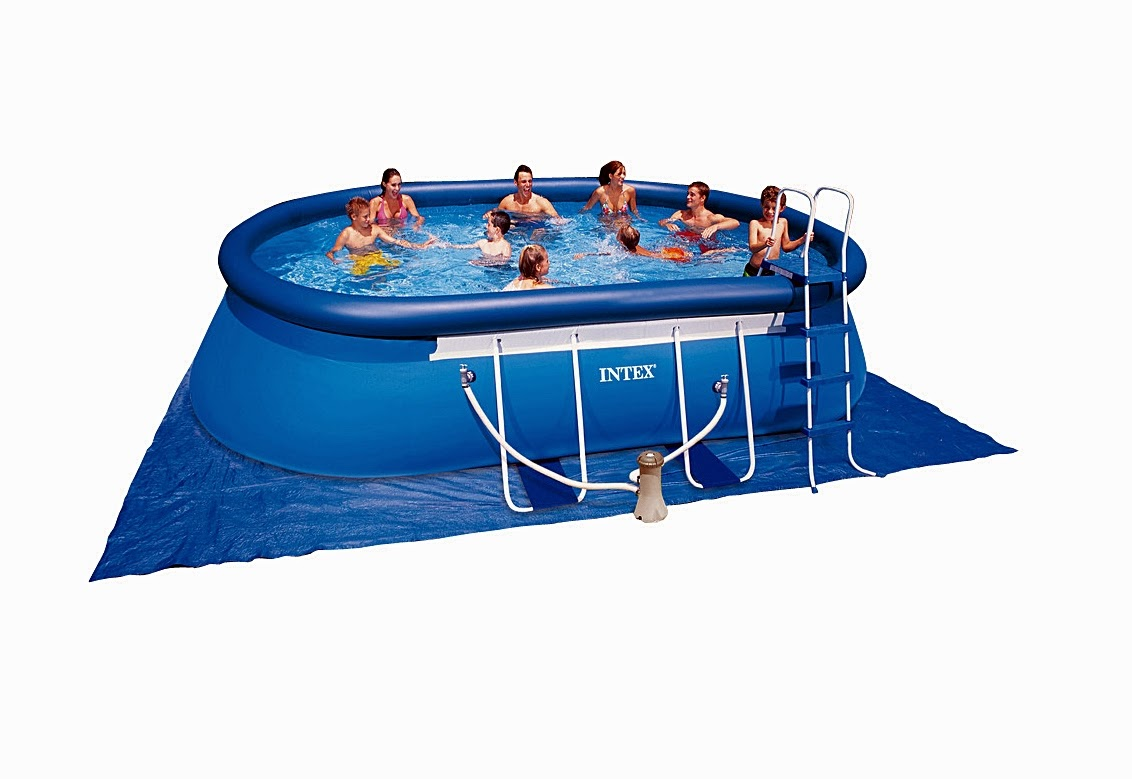 Expo piscinas for Cubre piscinas intex