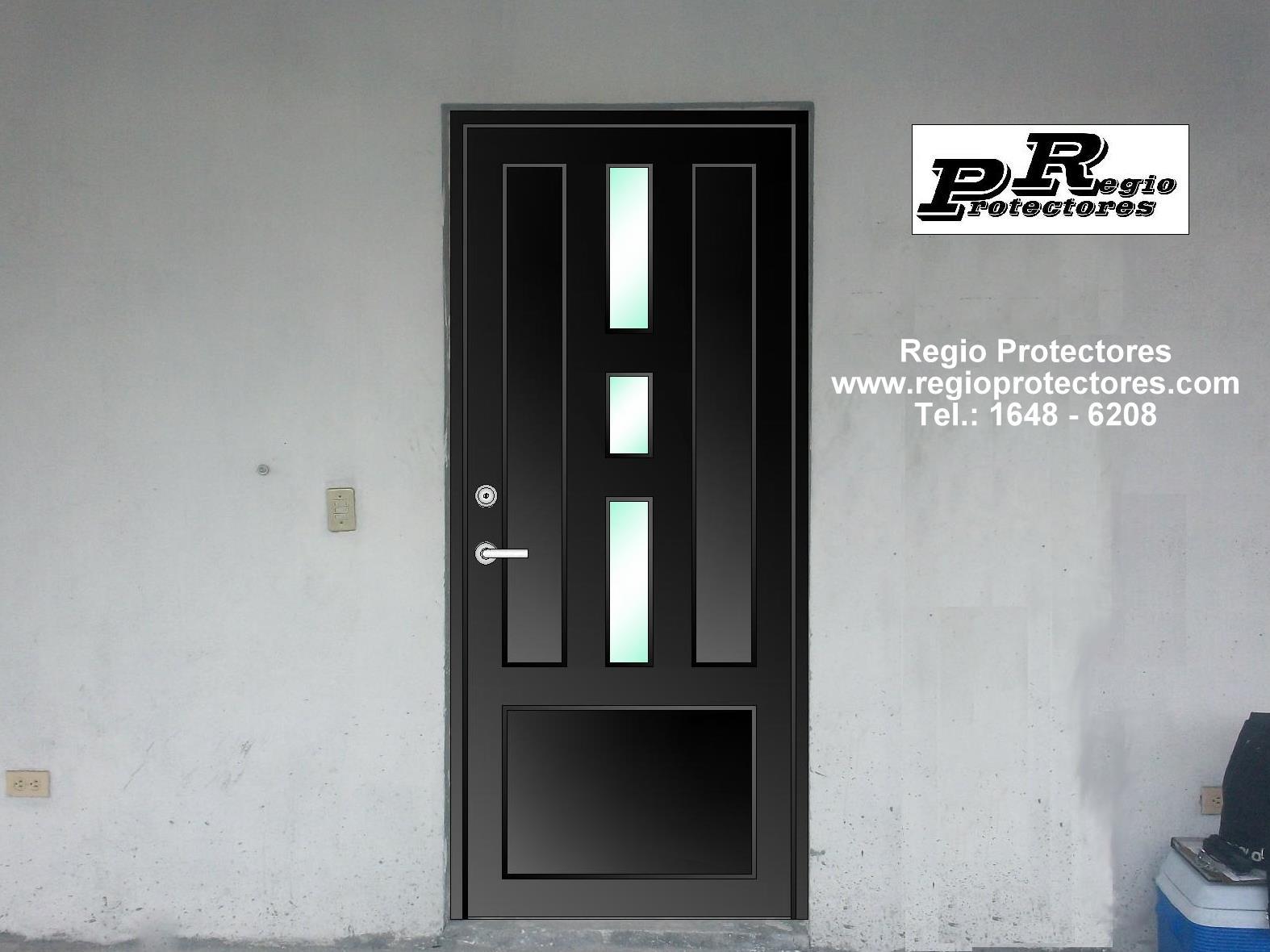 Puertas principales car interior design for Modelos de puertas principales minimalistas