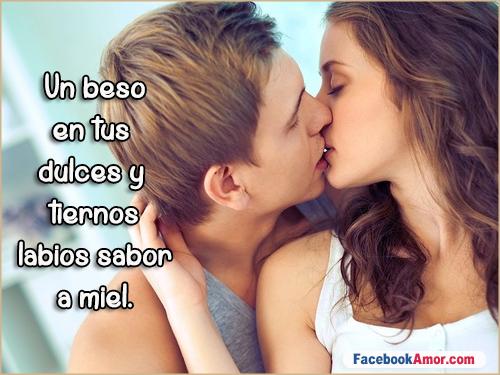 frases bonitas de besos romanticos