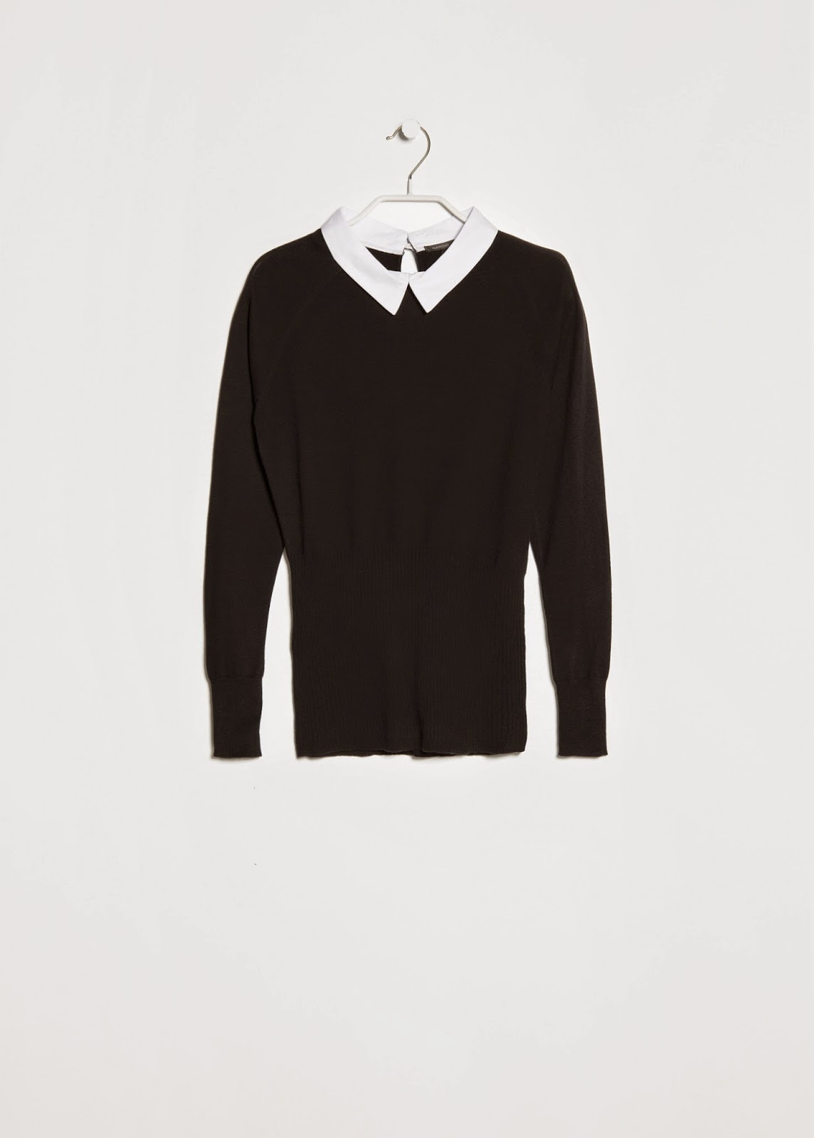 white collar jumper