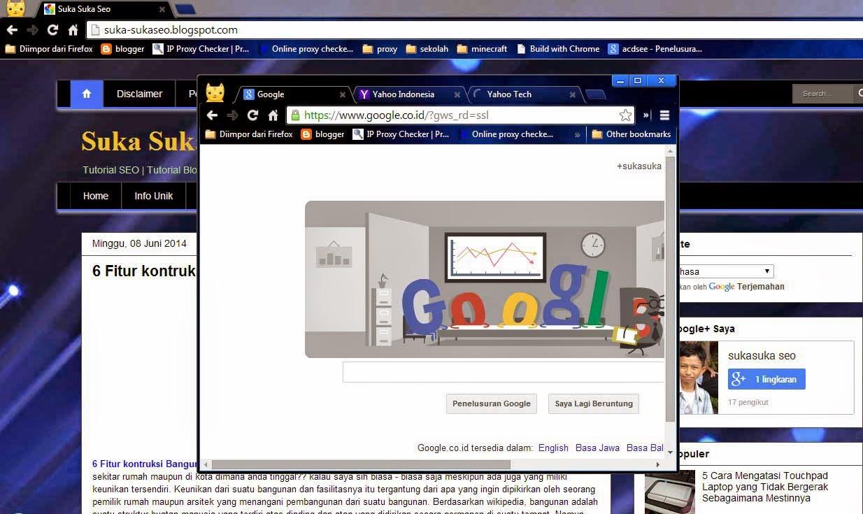 20 Fitur Tersembunyi Dibalik Browser Google Chrome ( Bagian 1 )