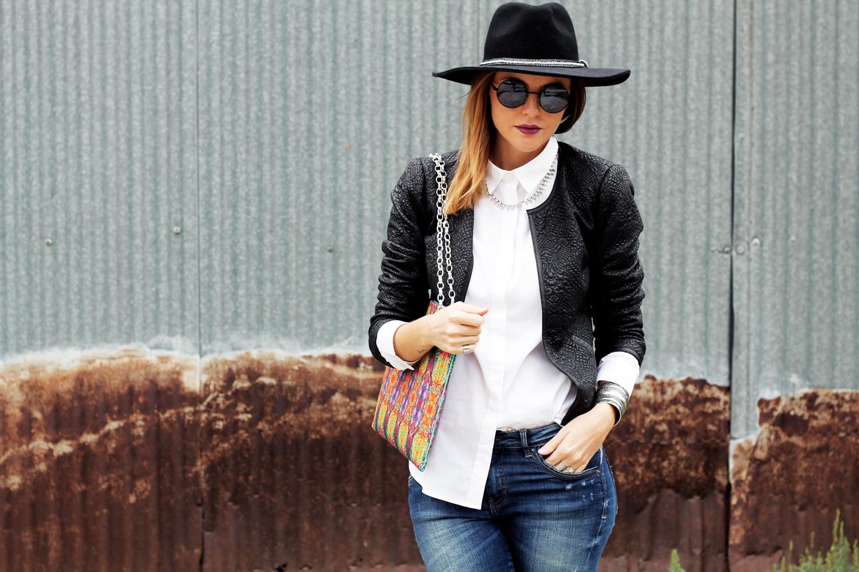 1-giacca-di-pelle-lavorata-promod-fashion-blogger