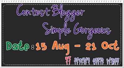 Contest Blogger Simple Gorgeous