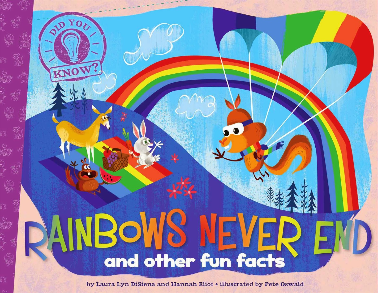 Books about color for kids - Rainbows Never End By Laura Lyn Disiena Part Of Book Review List About Colors And
