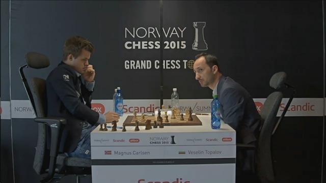 Norway Chess 2015. Carlsen - Topalov