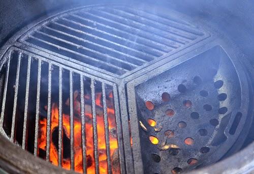 kamado cast iron grate