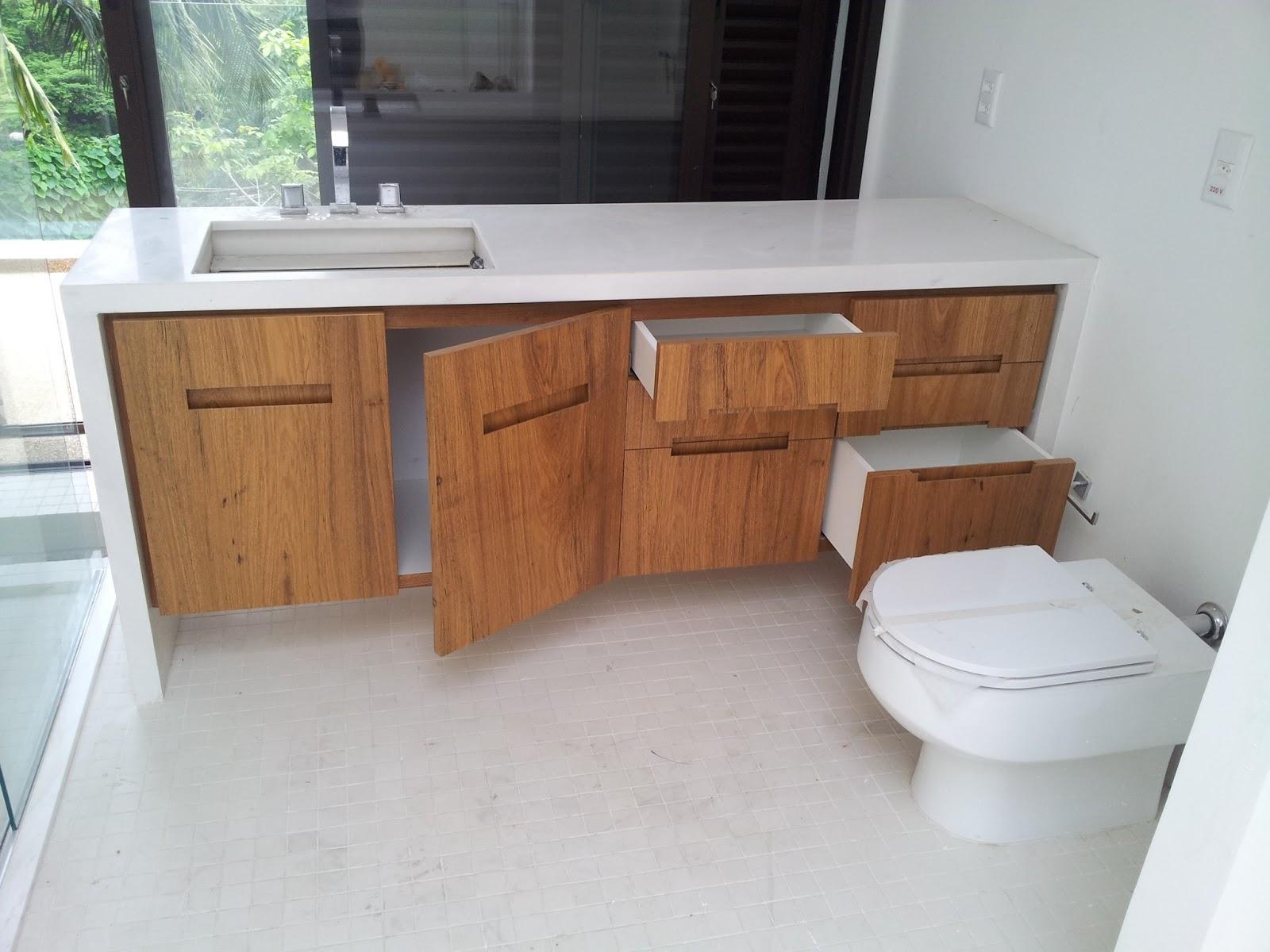 Móveis Sob Medida: Gabinete de banheiro #744931 1600x1200 Banheiro Com Gabinete