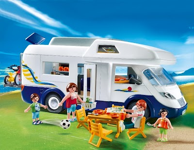 New RV Product: Family Motor Home from Playmobil