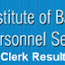 IBPS Clerk CWE III Result 2013 www.ibps.in IBPS CWE Clerk 3 Exam Results 2013
