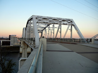 The Shelby Street Pedestrian Bridge in Nashville, TN