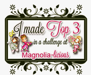 Oh Wow I am this months Top 3!!!
