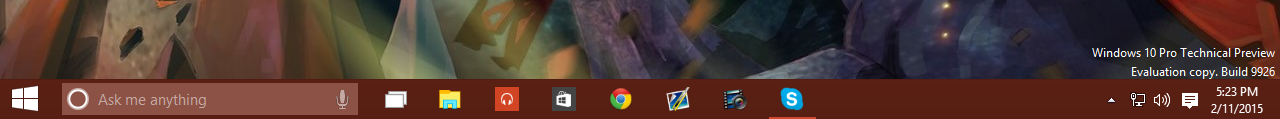 new-taskbar-with-cortana-search