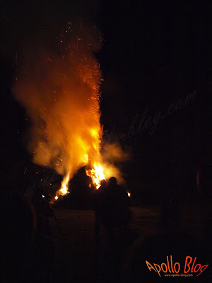 Foc de tabara Festivalul Vaii Muresului