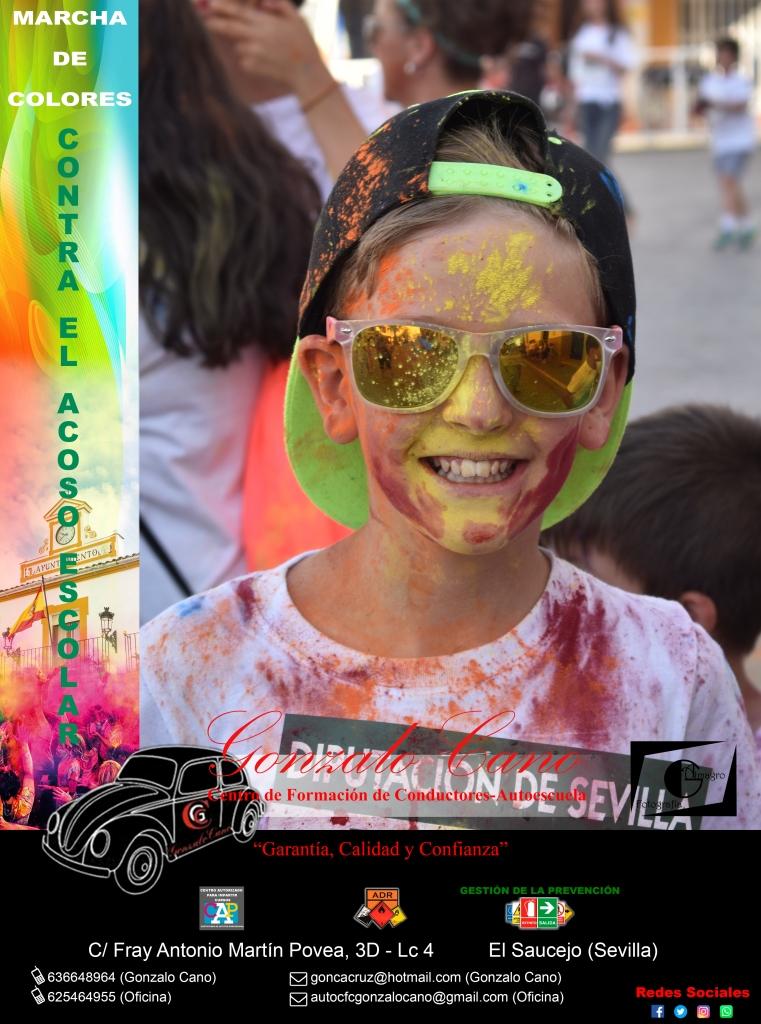 Marcha de colores CONTRA EL ACOSO ESCOLAR