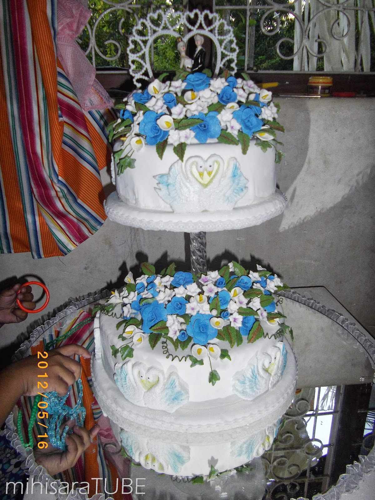 Sri Lankan wedding cake structures