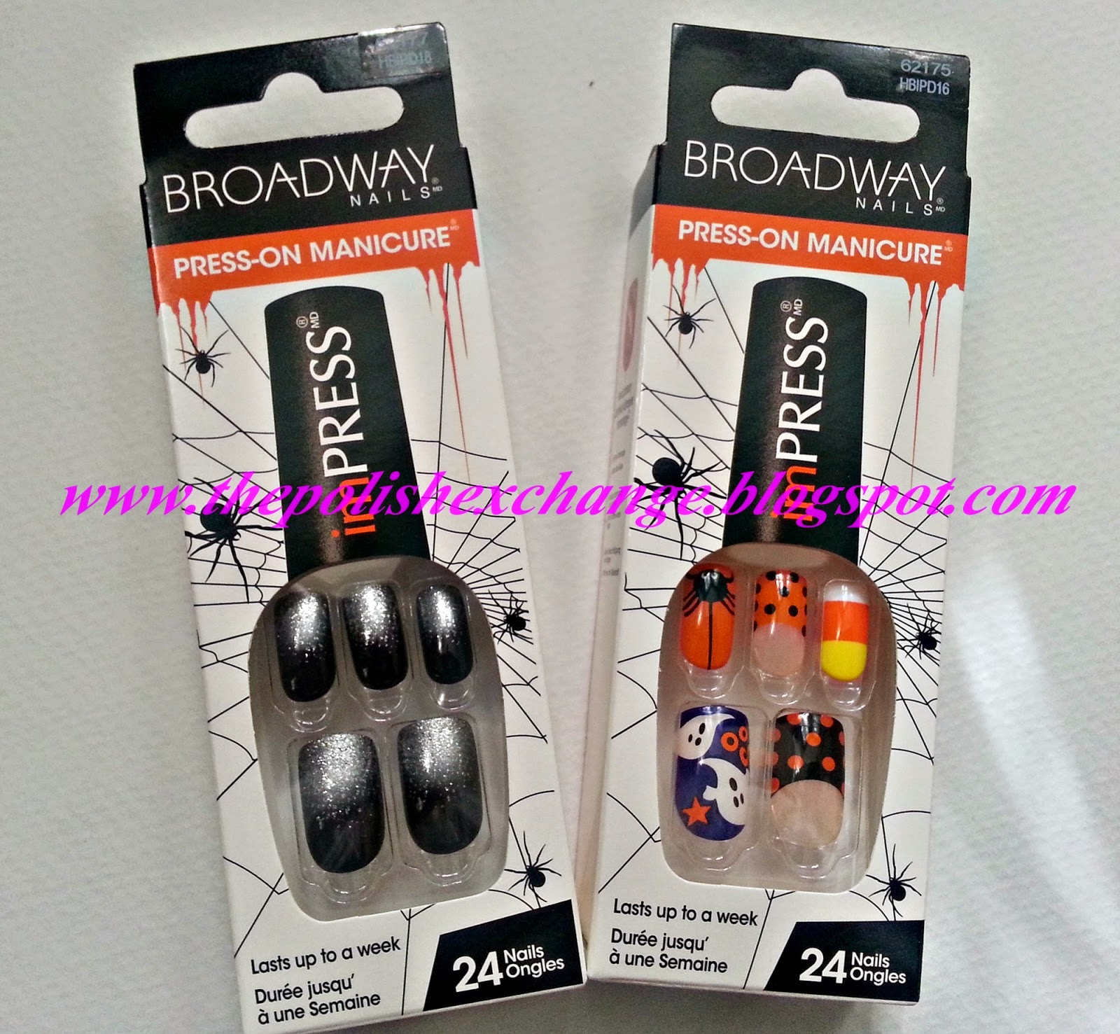 Walgreens Halloween Nail Polish: Nails Get Spooky This Halloween W/ Kiss Nails & Broadway