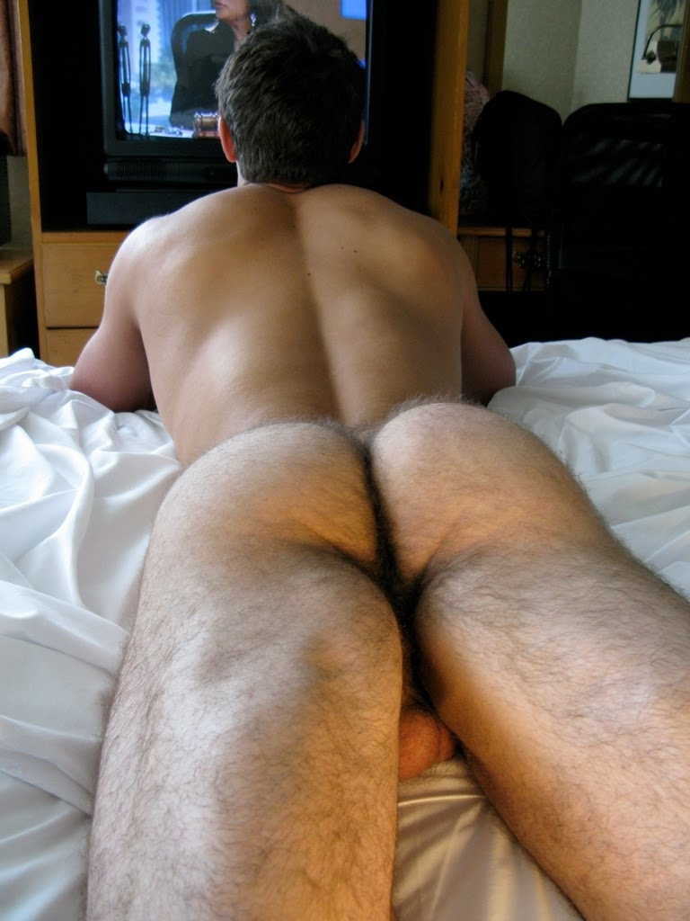 Young guys with hairy ass