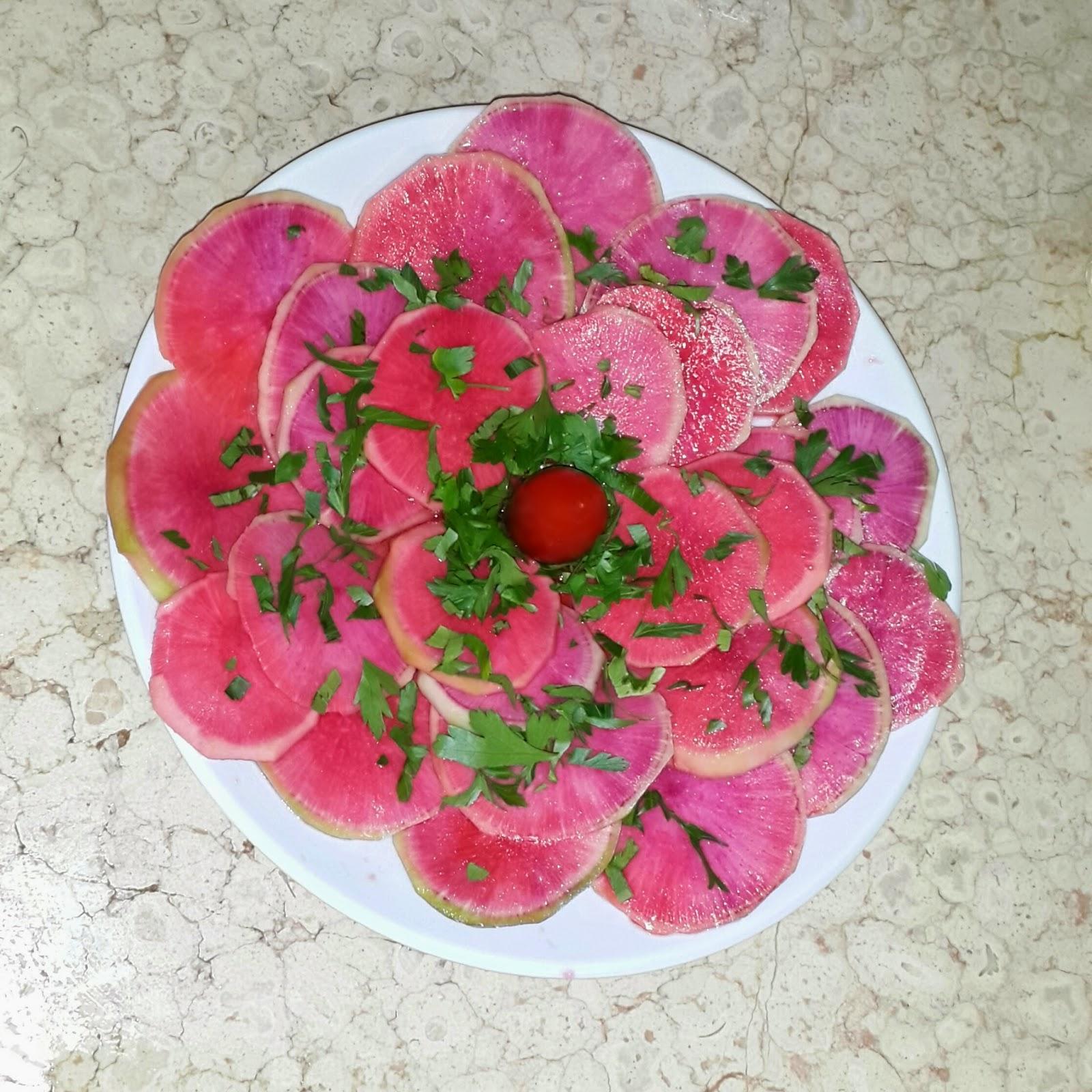Turp Carpaccio Tarifi – Salata Tarifleri