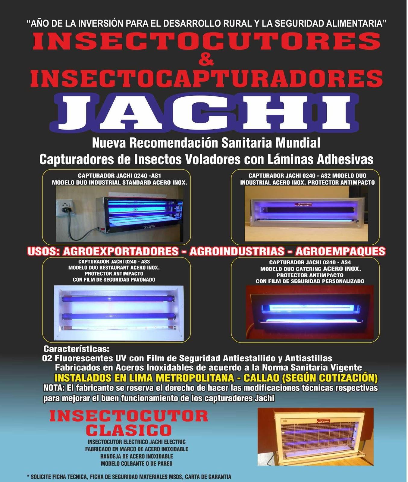 Insectocutor-Haccp: INSECTOCUTORES & INSECTOCAPTURADORES JACHI