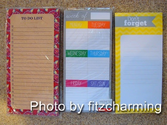 Note and To Do List Filofax Pages