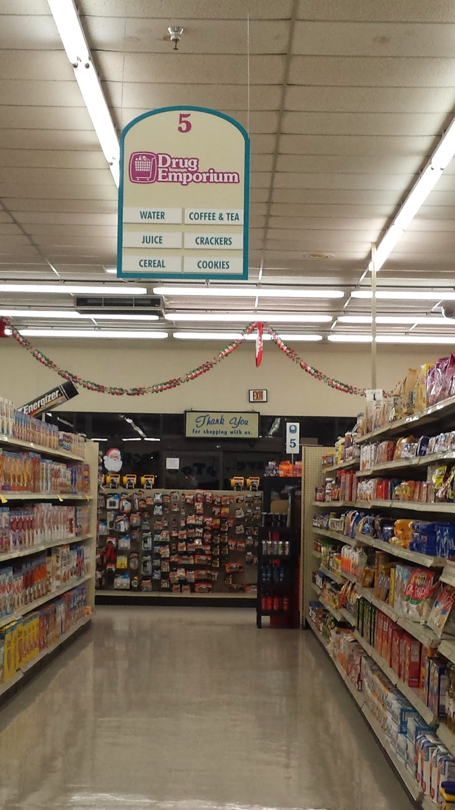 Grocery Store Thank You Sign