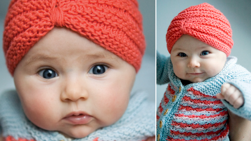 Free Crochet Pattern Baby Turban : ToBeContinued: FREE pattern- crochet baby turban