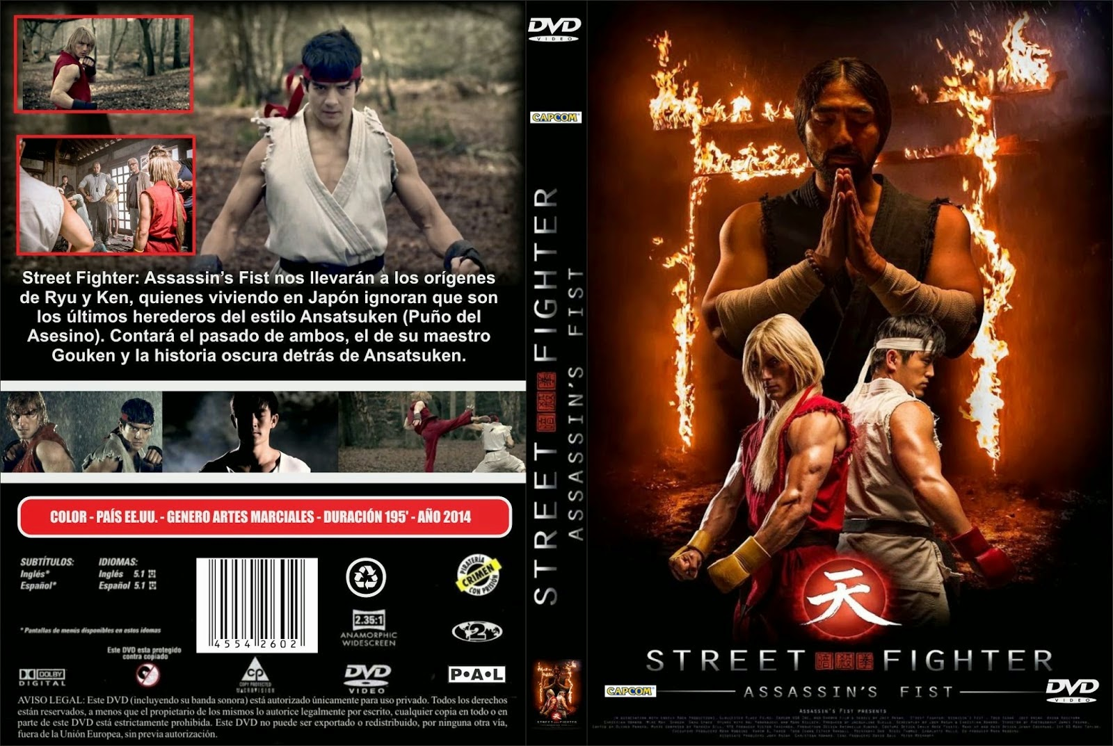 Baixar Street Fighter Punho Assassino DVD-R Street Fighter   Assassins Fist