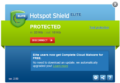 Hotspot Shield 2.88 Free Download