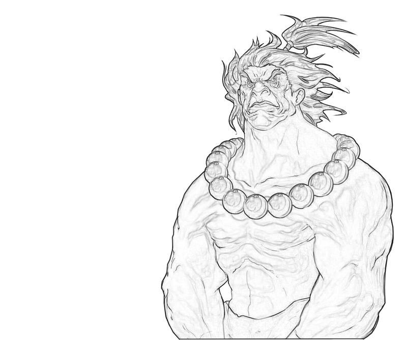 akuma-character-coloring-pages