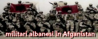 Militari albanesi in Afganistan - missione di pace