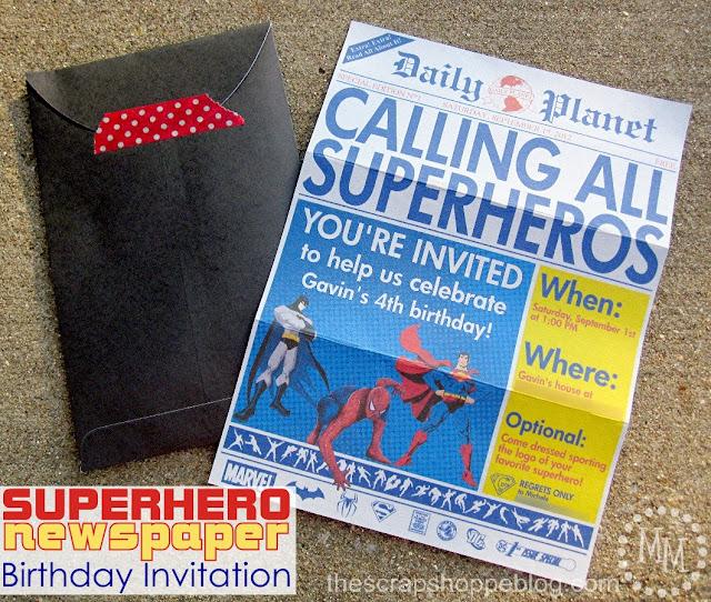 Superhero Birthday Invitations Templates Free